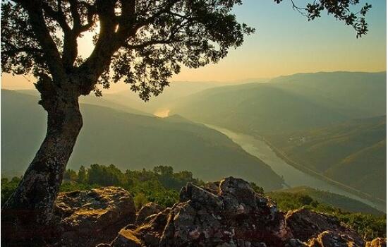 Com o tempo mais quente, aproveite para apreciar o por do sol num dos belos miradouros do Douro