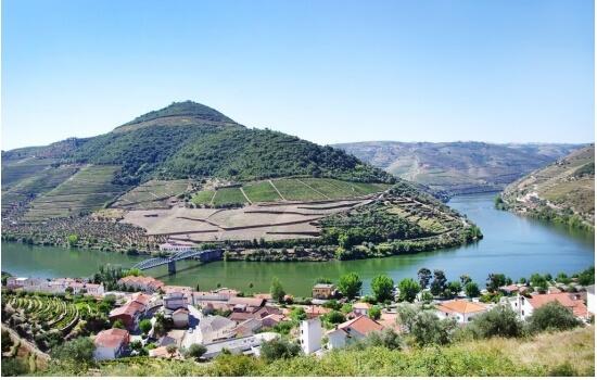 Desfrute de um copo do delicioso Vinho do Porto no Pinhão