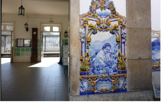 A Estação do Pinhão é uma das estações mais emblemáticas do Douro