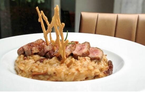 E o sabor dos seus pratos condiz na perfeição com a apresentação - delicioso!