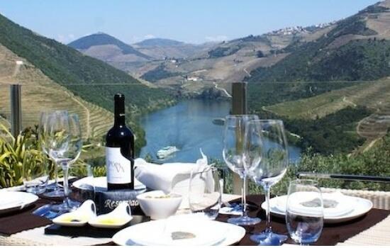 A Quinta do Pôpa oferece uma vista privilegiada para o Rio Douro