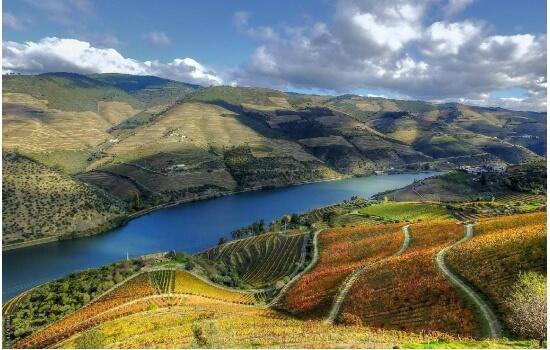As paisagens do Douro são dignas de serem consideradas um verdadeiro paraíso