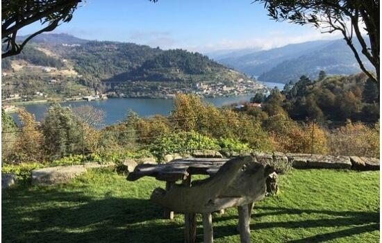 A Quinta da Ventozela oferece-nos paisagens de cortar a respiração!