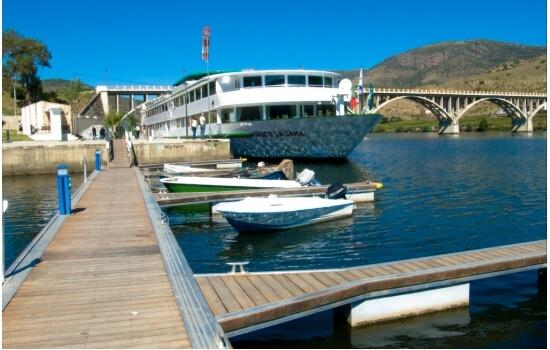 Barca d'Alva é a fronteira navegável entre Portugal e Espanha