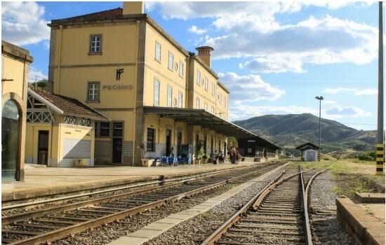 A Estação do Pocinho é a primeira paragem do nosso cruzeiro Porto-Pocinho-Porto