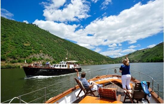 Um cruzeiro pelo Douro é muitas vezes considerado um luxo