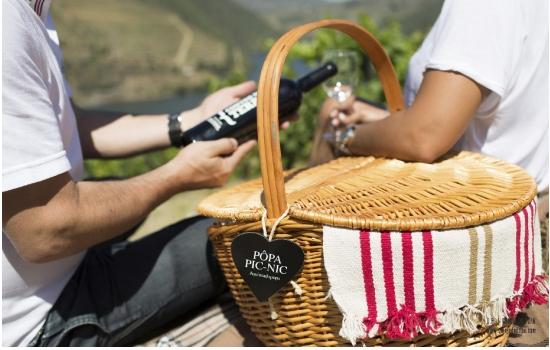 Na Quinta do Pôpa terá a possibilidade de fazer um piquenique no meio das vinhas