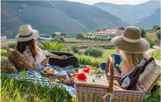 Na Quinta da Roêda pode ainda optar por dois serviços de piquenique diferentes nas suas vinhas