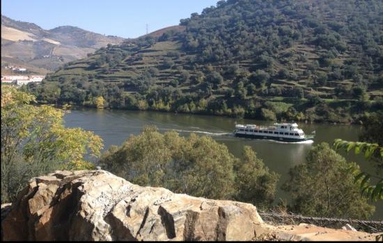 Aprecie as fantásticas paisagens do Douro enquanto navega pelo seu rio