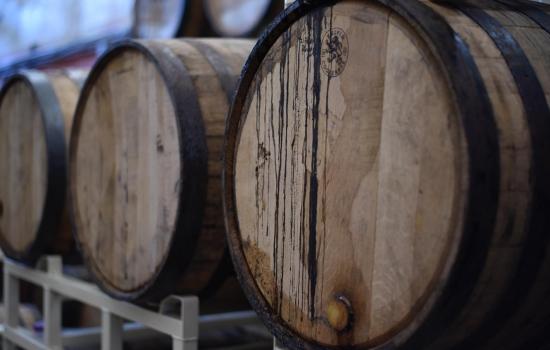 Barris que conservam o Vinho do Porto