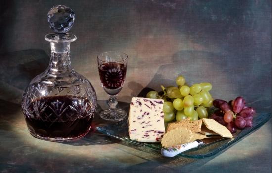 O Vinho do Porto Vintage harmoniza muito bem com queijo