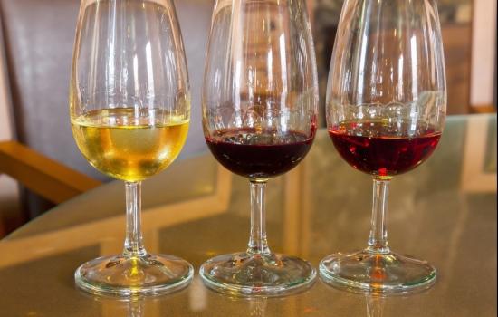 Vinho do Porto branco, Ruby e Tawny
