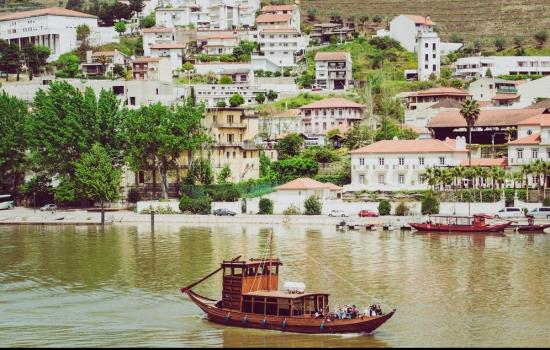 Barco Rabelo no Pinhão
