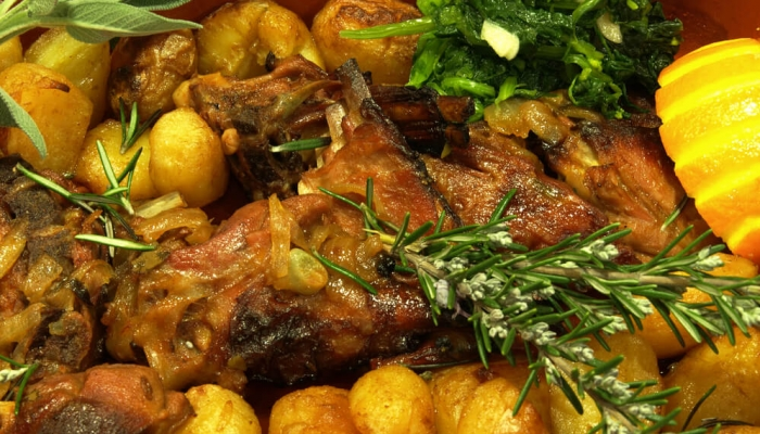 Roasted Kid is one of the most traditional Douro dishes