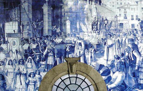 Neles estão retratados alguns dos momentos mais emblemáticos da História de Portugal