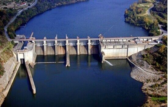 São 5 as Barragens existentes no Rio Douro em território português