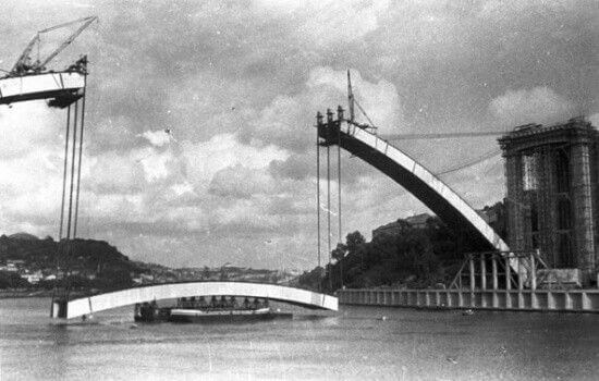 A Ponte da Arrábida foi inaugurada em 1963
