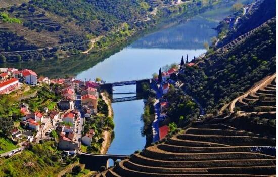As paisagens da Régua e do Pinhão são simplesmente encantadoras