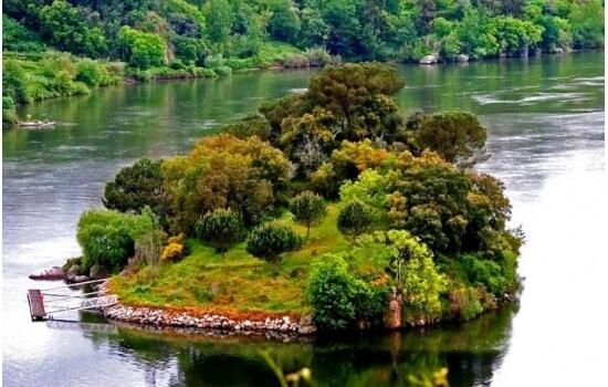 A Ilha dos Amores é um dos Tesouros do Rio Douro